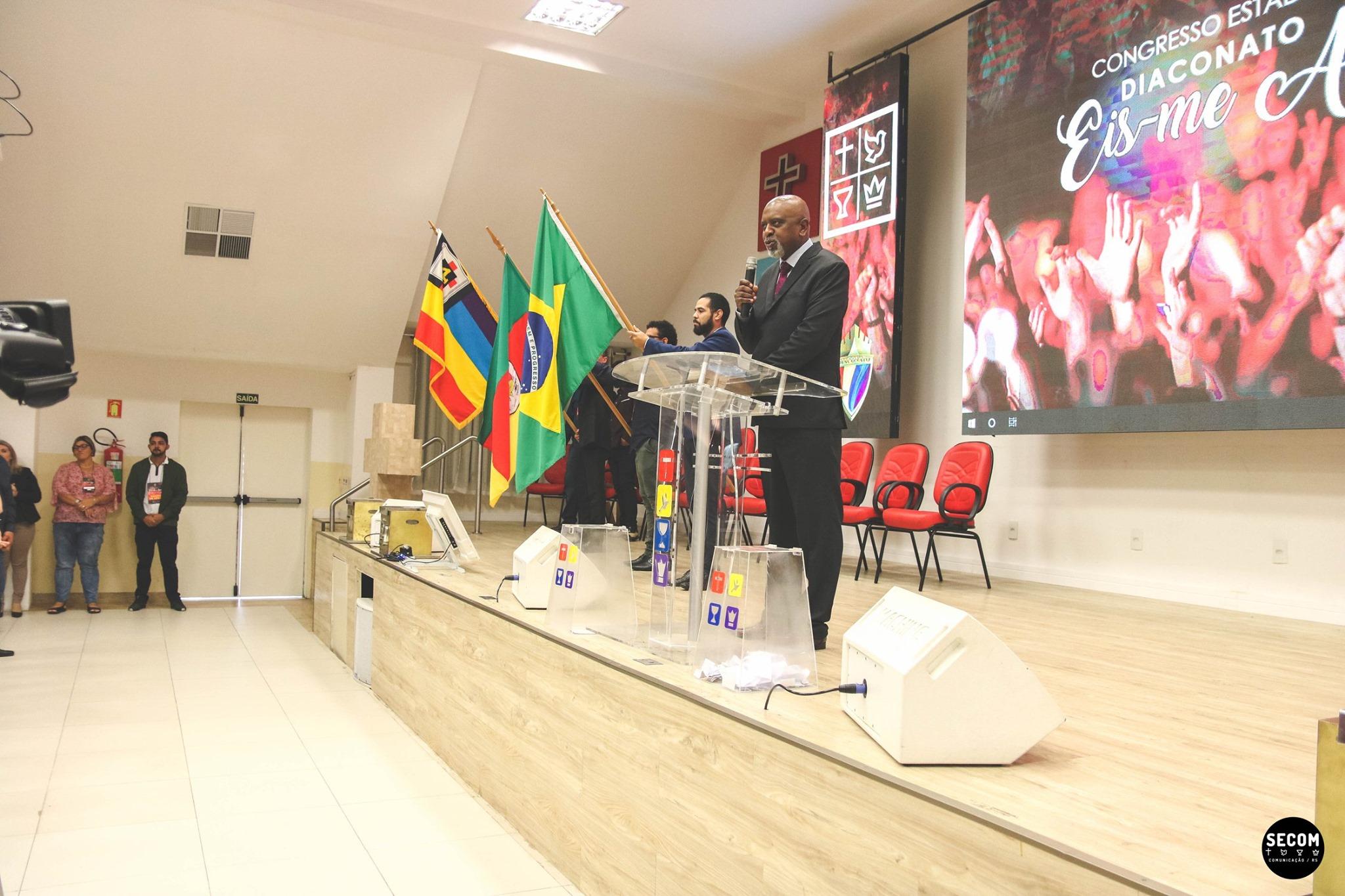 Congresso Estadual de Diáconos em Porto Alegre